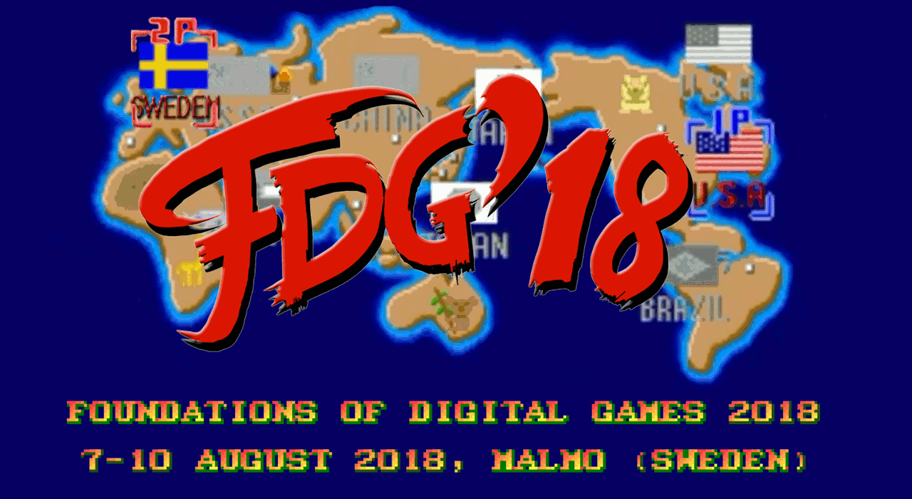 FDG '18, 7-10 August 2018, Malmö (Sweden)